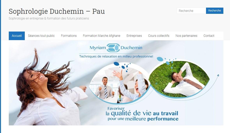 Sophrologie Duchemin - page d'accueil